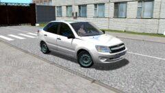 LADA Granta (1.5.9) - City Car Driving мод (изображение 4)