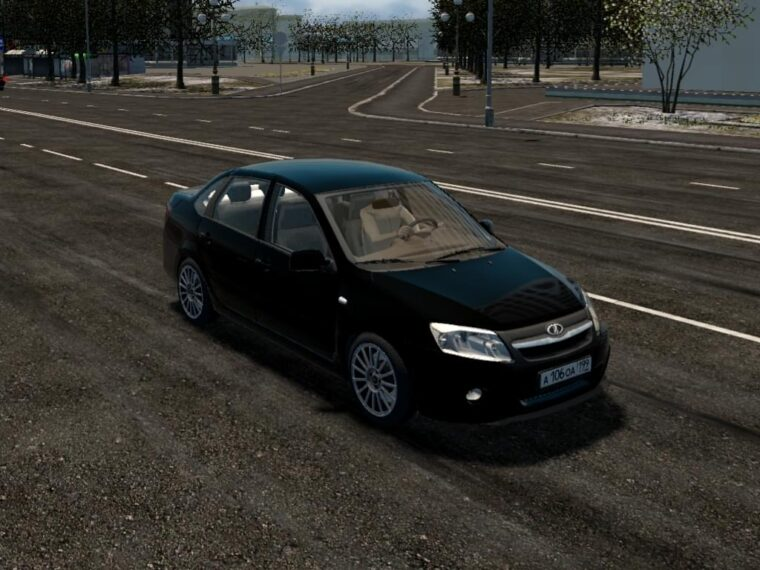 Лада Гранта Спорт (1.5.9) - City Car Driving мод