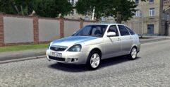 LADA Priora (1.5.9) - City Car Driving мод