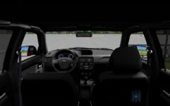LADA Priora 2014 (1.5.9) - City Car Driving мод (изображение 2)