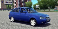 LADA Priora (1.5.9) - City Car Driving мод (изображение 2)