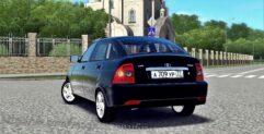 LADA Priora (1.5.9) - City Car Driving мод (изображение 3)