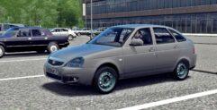 LADA Priora (1.5.9) - City Car Driving мод (изображение 5)