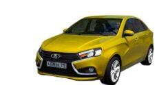 LADA Vesta (1.5.9) - City Car Driving мод