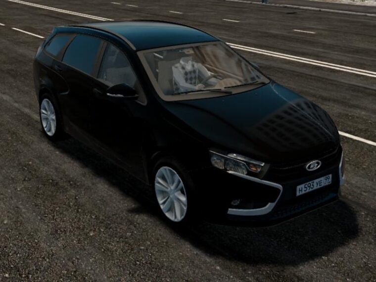Lada Vesta Universal (1.5.9) - City Car Driving мод