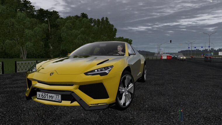 Lamborghini Urus (1.5.9) - City Car Driving мод
