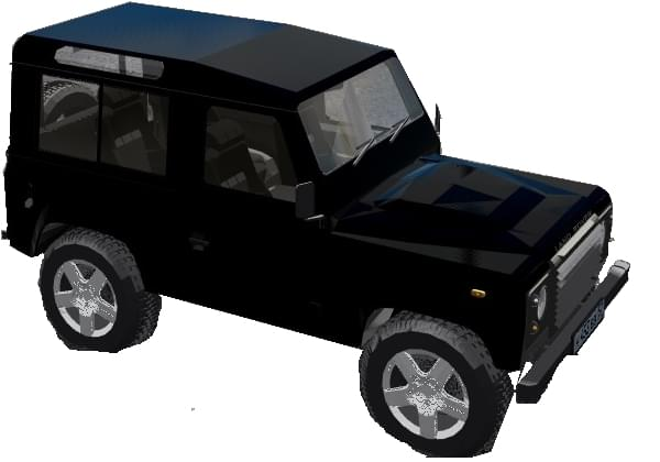 Land Rover Defender (1.5.9) - City Car Driving мод