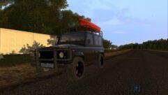 Land Rover Defender (1.5.9) - City Car Driving мод (изображение 2)