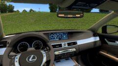 Lexus GS 350 F Sport (1.5.9) - City Car Driving мод (изображение 4)