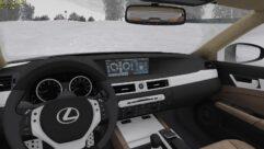 Lexus GS 350 F Sport (1.5.9) - City Car Driving мод (изображение 7)