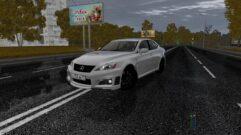 Lexus IS F (1.5.9) - City Car Driving мод