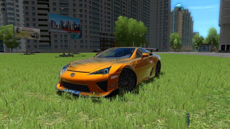 Lexus LF-A Nurburgring Edition (1.5.9) - City Car Driving мод