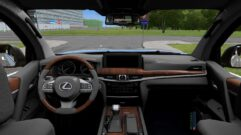 Lexus LX570 2017 (1.5.9) - City Car Driving мод (изображение 4)