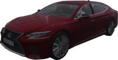 Lexus LS 500 (1.5.9) - City Car Driving мод