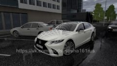 Lexus LS 500 (1.5.9) - City Car Driving мод (изображение 3)