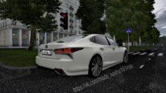 Lexus LS 500 (1.5.9) - City Car Driving мод (изображение 4)