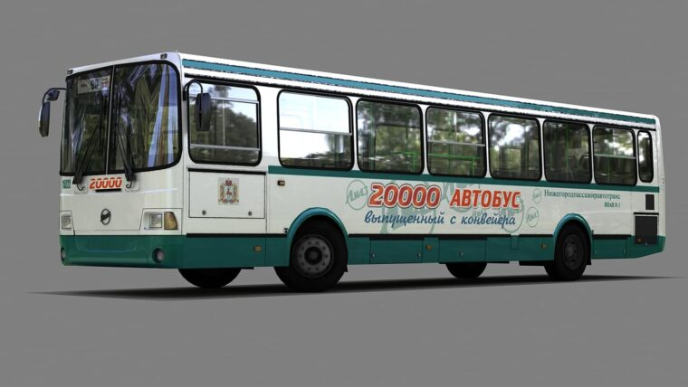 Liaz 5256.26 (1.5.9) - City Car Driving мод