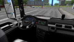 MAN TGS (1.5.9) - City Car Driving мод (изображение 5)