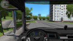 MAN TGS (1.5.9) - City Car Driving мод (изображение 6)