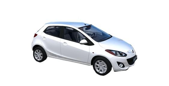 MAZDA 2 (1.5.9) - City Car Driving мод