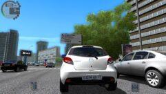 MAZDA 2 (1.5.9) - City Car Driving мод (изображение 4)
