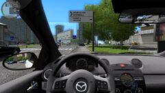 MAZDA 2 (1.5.9) - City Car Driving мод (изображение 5)