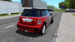 MINI John Cooper Works (1.5.9) - City Car Driving мод (изображение 3)
