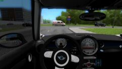 MINI John Cooper Works (1.5.9) - City Car Driving мод (изображение 4)