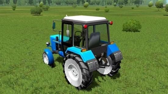 MTZ-80 (1.5.9) - City Car Driving мод (изображение 4)