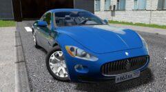 Maserati GranTurismo (1.5.9) - City Car Driving мод