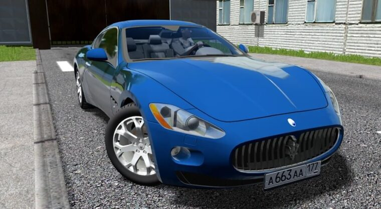 Maserati GranTurismo (1.5.9) - City Car Driving мод