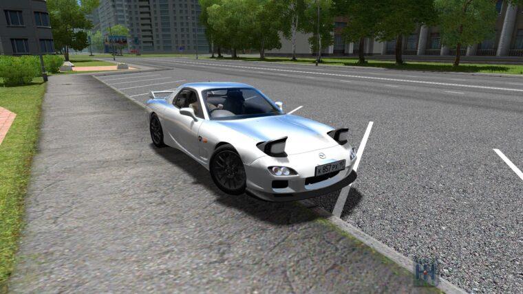 Mazda RX-7 (1.5.9) - City Car Driving мод