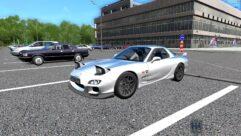 Mazda RX-7 (1.5.9) - City Car Driving мод (изображение 3)