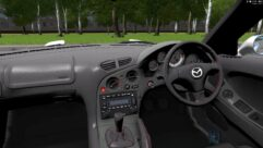 Mazda RX-7 (1.5.9) - City Car Driving мод (изображение 4)