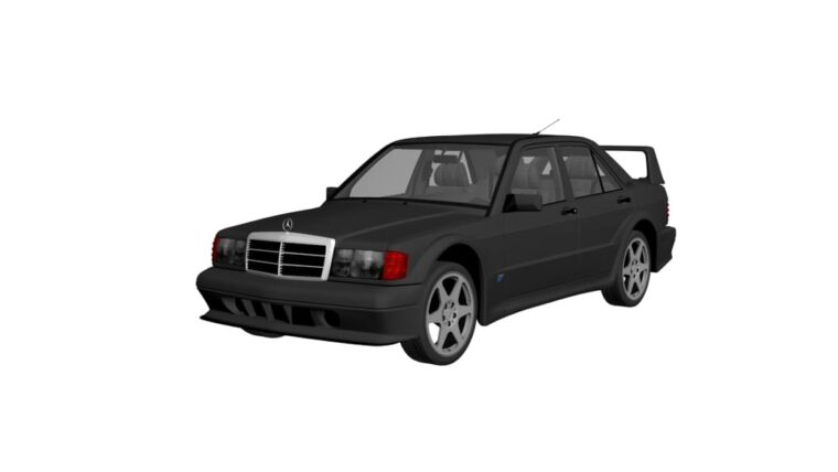 Mercedes-Benz 190 E 2.5-16 Evolution II (W201) (1.5.9) - City Car Driving мод