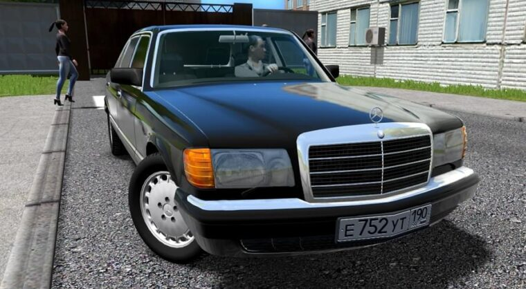 Mercedes-Benz 560 SEL (W126) (1.5.9) - City Car Driving мод