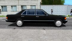 Mercedes-Benz 560 SEL (W126) (1.5.9) - City Car Driving мод (изображение 2)