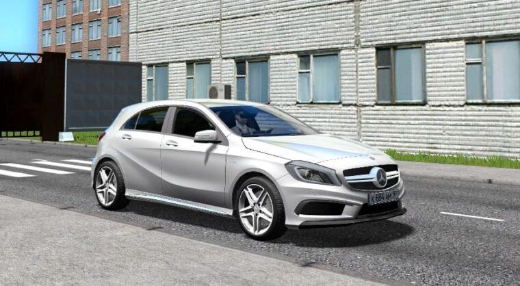 Mercedes-Benz A45 AMG (1.5.9) - City Car Driving мод