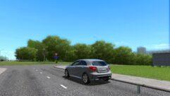Mercedes-Benz A45 AMG (1.5.9) - City Car Driving мод (изображение 3)