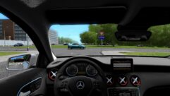 Mercedes-Benz A45 AMG (1.5.9) - City Car Driving мод (изображение 4)