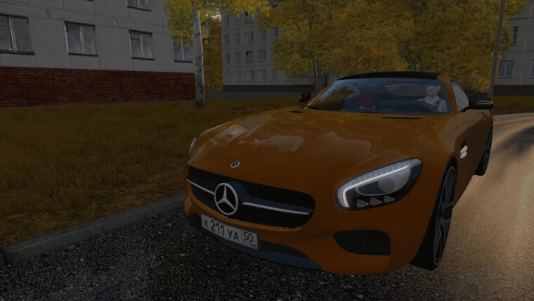 Mercedes-Benz AMG GT (1.5.9) - City Car Driving мод