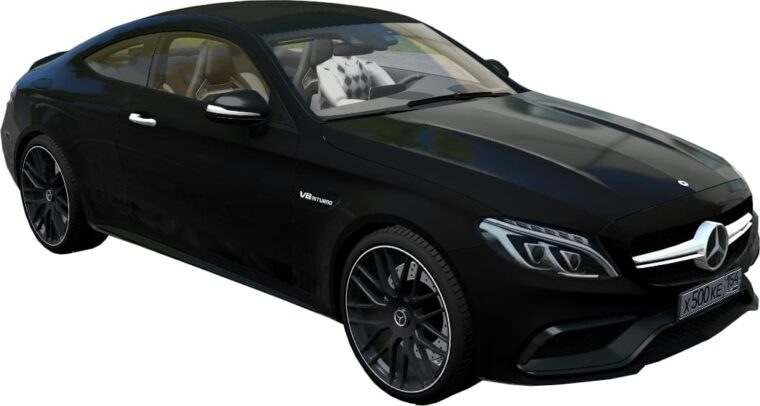 Mercedes-Benz C63 S AMG Coupe 2016 (1.5.9) - City Car Driving мод