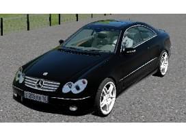 Mercedes-Benz CLK 55 AMG (1.5.9) - City Car Driving мод