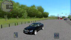 Mercedes-Benz CLK 55 AMG (1.5.9) - City Car Driving мод (изображение 2)