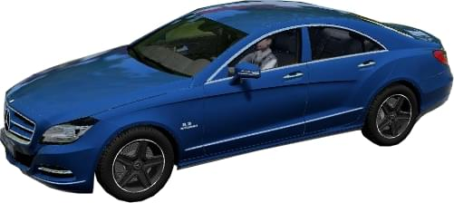 Mercedes-Benz CLS63 AMG 2012 (1.5.9) - City Car Driving мод