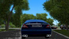 Mercedes-Benz CLS63 AMG 2012 (1.5.9) - City Car Driving мод (изображение 4)