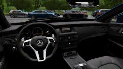 Mercedes-Benz CLS63 AMG 2012 (1.5.9) - City Car Driving мод (изображение 6)