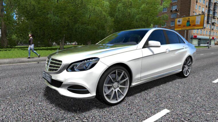 Mercedes-Benz E-Class (1.5.9) - City Car Driving мод