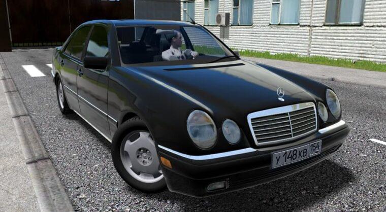 Mercedes-Benz E420 (W210) (1.5.9) - City Car Driving мод