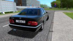 Mercedes-Benz E420 (W210) (1.5.9) - City Car Driving мод (изображение 3)